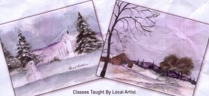 Classes Taught by Local Artist - Work by Local Artist