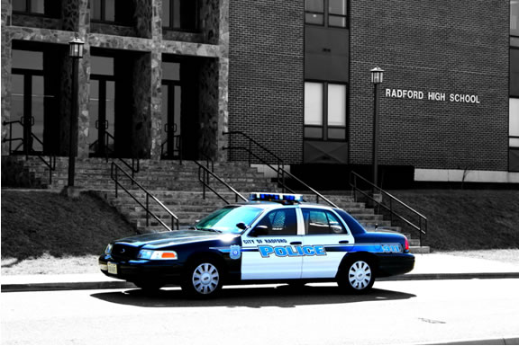 School Resource Officer Police Car