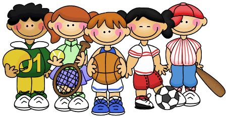 Youth Sports Clipart