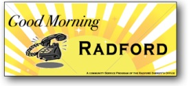 Good Morning Radford Logo