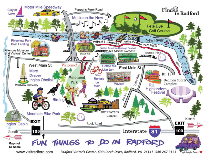 Fun Things to Do Map