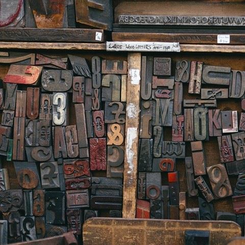 Assorted Printing Type