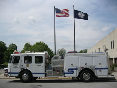 1997 E-One Pumper