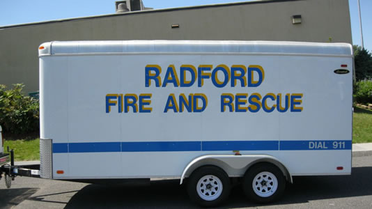 Water Rescue and Recovery Equipment Trailer